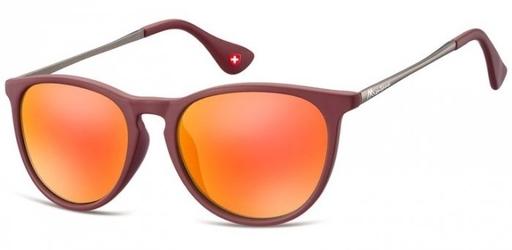 Damskie okulary przeciwsloneczne lustrzanki ms24f