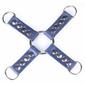 Łącznik hogtie d-ring xtreme true blue