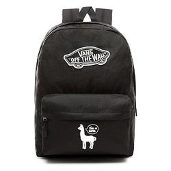 Plecak szkolny vans realm backpack custom white lama - vn0a3ui6blk - white lama