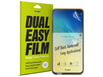 2x folia ochronna ringke dual easy film do samsung galaxy s10e 5.8