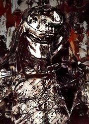 Legends of bedlam - predator, avp - plakat wymiar do wyboru: 30x40 cm