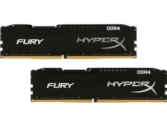 HyperX DDR4 Fury Black 16GB2400 28GB CL15