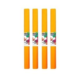 Bibuła marszczona 50x200 cm - pomarańczowy jasny - pomjas