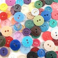 Mix kolorowych guzików - 2 wielkości200 szt - mixii