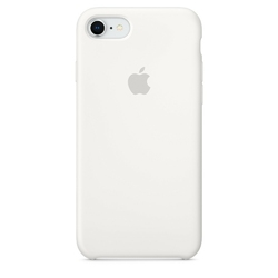 Apple iPhone 8  7 Silicone Case - White