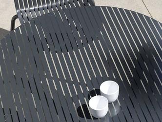 Zestaw mebli do ogrodu - owalny stół loto 190 cm + 6 krzeseł ninfea dinner