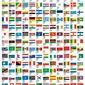 Flagi Państw - plakat
