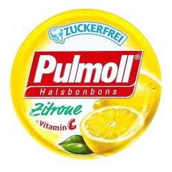 Pulmoll cukierki z witaminą c na gardło i kaszel  bez zawartości