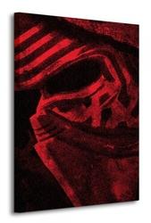 Gwiezdne wojny star wars episode vii kylo ren mask - obraz na płótnie
