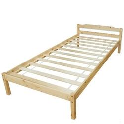 Łóżko młodzieżowe 90x200 cm, sosna