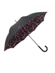 Długi parasol podwójna tkanina, płatki