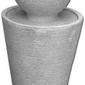Vb fontanna betonowa kula jednopoziomowa domogród 86cm
