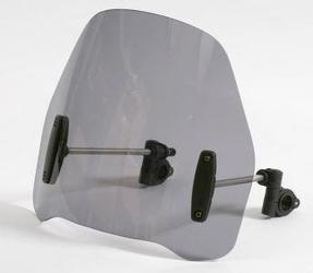 Uniwersalna szyba do motocykli bez owiewek mra bezbarwna typ ro