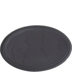 Półmisek do steków 35 cm, porcelanowa imitacja czarnego łupka basalt revol rv-654185-4