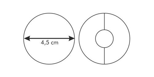 Tescoma wykrawacz do kruchych ciasteczek delicia 4,5 cm