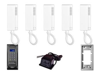 Domofon wielolokatorski aco cdnp6acc dla 5 lokatorów. - szybka dostawa lub możliwość odbioru w 39 miastach