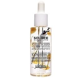 Loreal source nourishing oil, olejek do włosów suchych i uwrażliwionych 70ml