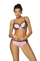 Kostium kąpielowy marko charlotte pink m-495 3