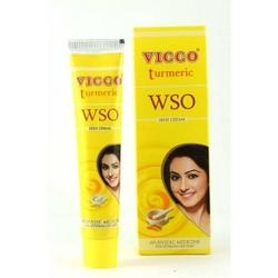 Lekki krem do cery tłustej i trądzikowej vicco turmeric bez olejku sandałowego wso 30g vicco