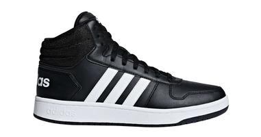 Adidas hoops 2.0 mid bb7207 44 czarny