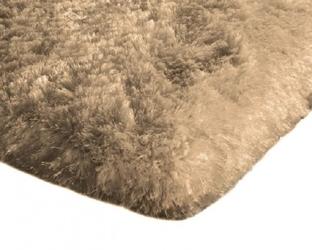 Dywan pluszowy mikrofibra wysoki shaggy 120x170 capuccino
