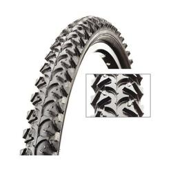 Opona rowerowa cst 20 x 1.95 c-1040 n black tiger eco
