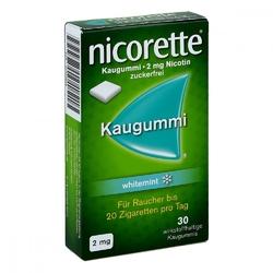 Nicorette 2 mg whitemint guma do żucia