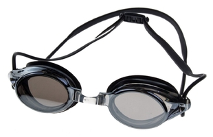 Okulary do pływania vivo b-0108 czarne lustrzane