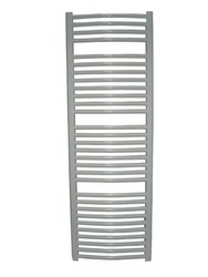 Grzejnik łazienkowy wetherby - elektryczny, wykończenie zaokrąglone, 600x1200, białyral - paleta ral