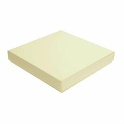 Pudełko na kartkę 16x16 cm GoatBox 16 cm - kolor ekri - ecru
