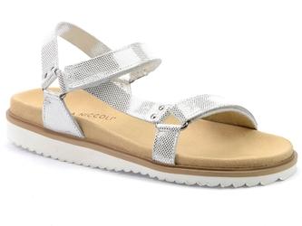 Sandały nik 07-0293-00-0-62-00 srebrny