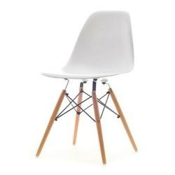 Krzesło ogrodowe tunis wood białe