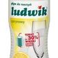Ludwik cytryna, płyn do zmywania naczyń, 1kg