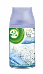 Air Wick Freshmatic, Orzeźwiająca Bawełna i Kwiat Migdałowca, samouwalniający odświeżacz powietrza, zapas, 250ml