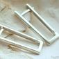 Elisanda - srebrne kolczyki agrafki