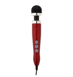 Masażer ciała doxy number 3 wand massager disco czerwony | 100 oryginał| dyskretna przesyłka