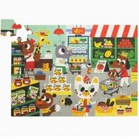 Petit monkey - maxi puzzle wesołe zwierzęta - supermarket