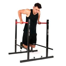 Poręcze stacjonarne regulowane do ćwiczeń mh-d212 - marbo sport