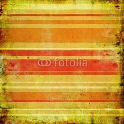 Tapeta ścienna rocznika pomarańczowym tle