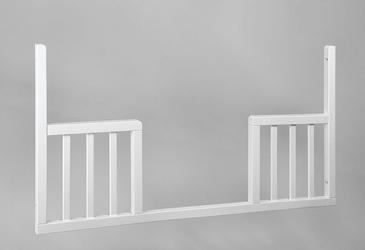 Wymienny bok do łóżeczka TROLL ECO PANEL Toddler Rail k. biały