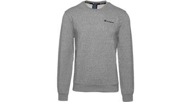 Champion crewneck sweatshirt 214151-em524 s szary