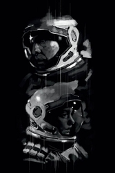 Interstellar - plakat premium wymiar do wyboru: 29,7x42 cm