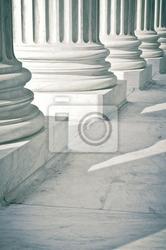 Fototapeta kamiennymi filarami