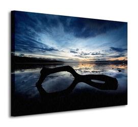 Beach reflection - obraz na płótnie