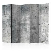 Parawan 5-częściowy - świeży beton room dividers