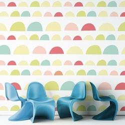 Rainbow art - tapeta ścienna , rodzaj - tapeta flizelinowa