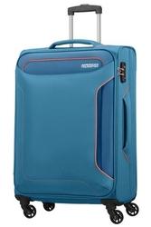 Walizka american tourister holiday heat spinner 79 cm - niebieski