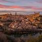 Panorama miasta - plakat premium wymiar do wyboru: 60x40 cm