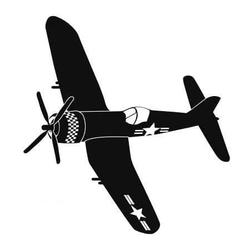 Samolot 3 naklejka