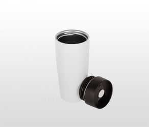 Kubek termiczny travel cup 350 ml biały
